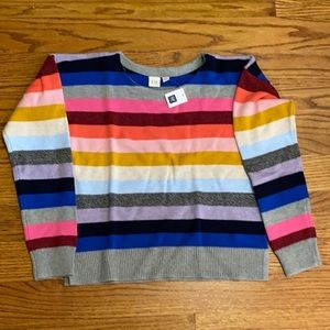 Teens multicolored sweater